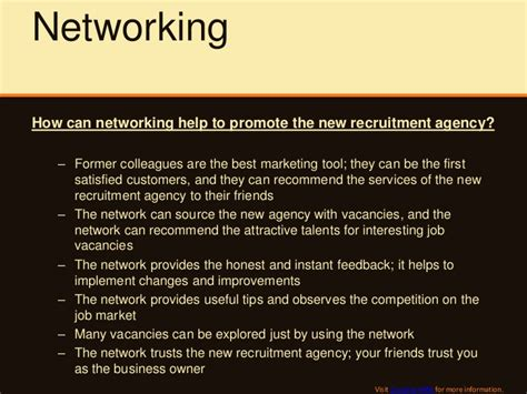Introduction Letter Recruitment Agency How To Promote The New Recruitment Agency