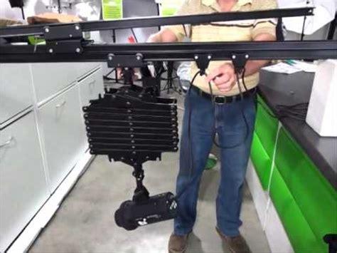 Ceiling Rail Pantograph 3pcs ceiling rail and pantograph demo