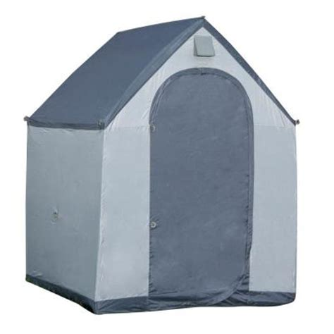 Portable Sheds Home Depot by Home Depot 6 Ft X 6 Ft Polyester Portable Storage House