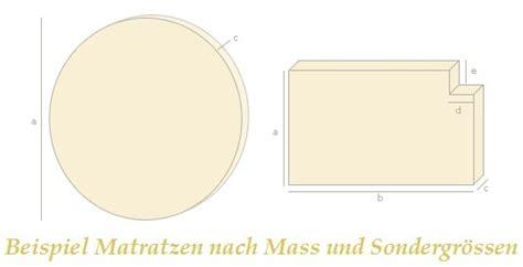 matratzen nach mass matratzen sonderanfertigungen