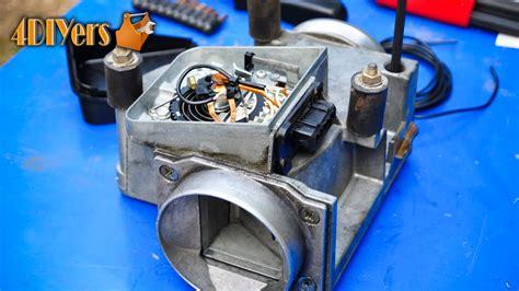 bmw airflow meter diy bmw air flow meter refurbishment