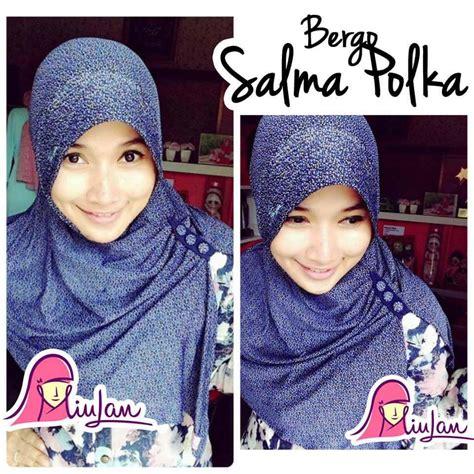 Jilbab Instan Bergo Polka Luis bergo murah jersey motif jilbab instan bergo