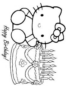 coloring pages hello hello birthday coloring sheet