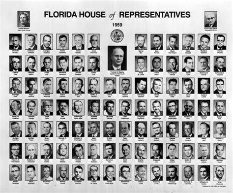 how are members of the house of representatives elected florida memory members of the 1959 florida house of representatives