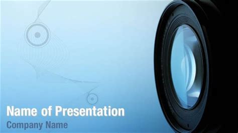 camera powerpoint templates professional camera lens powerpoint templates