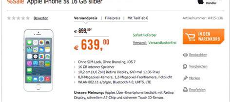 wann wird iphone 5s billiger iphone 5s ohne vertrag billiger ohne simlock netlock