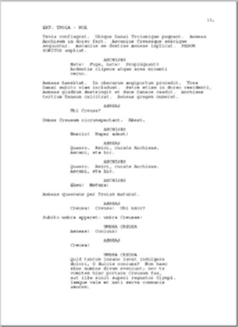 Word Vorlage Drehbuch Drehbuch