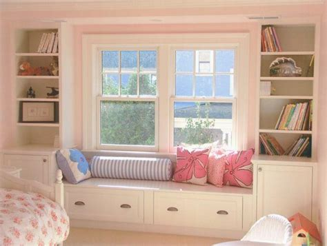 window seat bedroom ideas built in storage and window seat house ideas pinterest