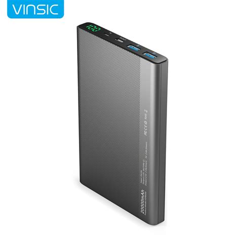 Power Bank Samsung Type A020 aliexpress buy vinsic 20000mah power bank type c