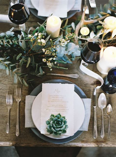 Table Setting For Wedding by 20 Impressive Wedding Table Setting Ideas Modwedding