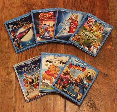 Disney Giveaway - newly released disney blu ray dvd gifts for the holidays