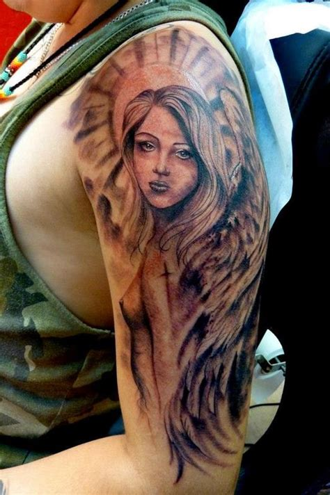 Guardian Half Sleeve Guardian By Mully Tattoos