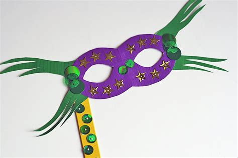 How To Make A Mardi Gras Mask Out Of Paper - your own mardi gras parade with these 20 diy masks