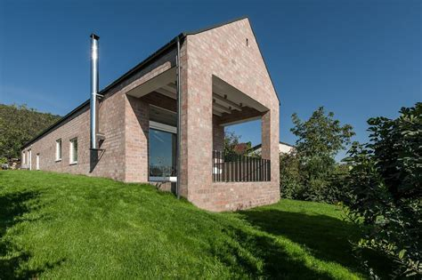 minimalist brick house brick houses that form a bridge between past and present