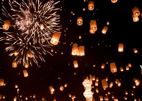 new year peace lantern festival new year s fireworks seen from space photo essay