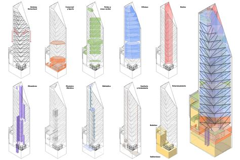 Floor Plan Architecture by Gallery Of Torre Reforma Lbr A 26