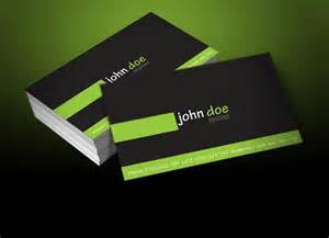 personal business card templates personal greenblack business card template vector free