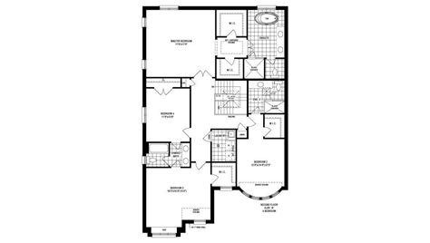 vanderbilt floor plans vanderbilt oakville ontario fernbrook homes