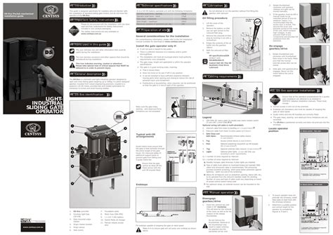 centurion d5 gate motor manual impremedia net