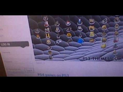 ps3 themes ps4 xmb 2 0 how to get ps4 xmb theme on ps3 youtube
