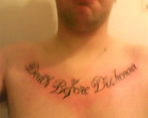 death quote tattoos chest tattoos and designs page 512