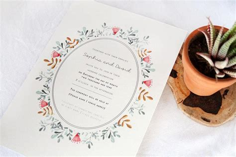 the invitation gallery cape town wedding stationery