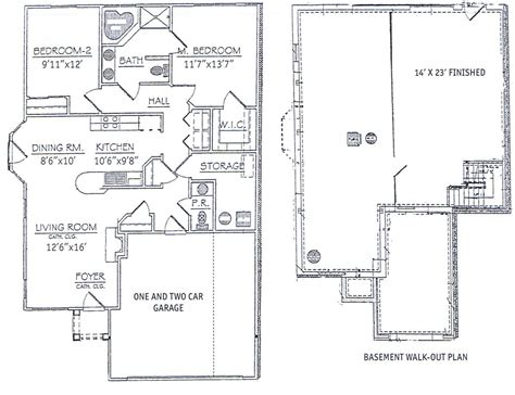 town home floor plans zspmed of townhome floor plans