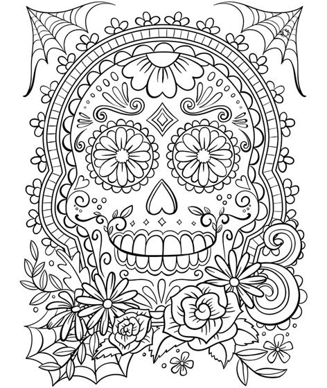 trippy coloring book for sale sugar skull coloring page crayola