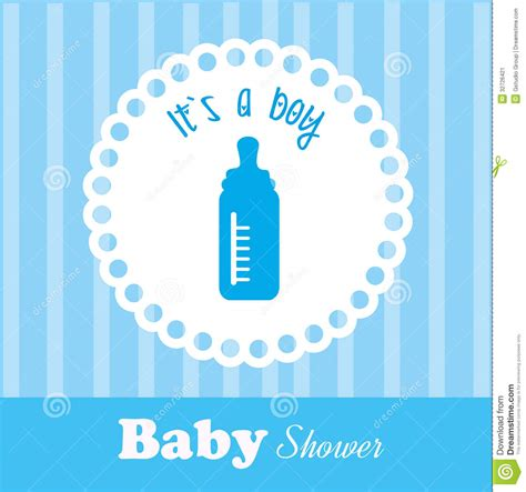 Baby Shower Time by Baby Shower Stock Image Image 32726421
