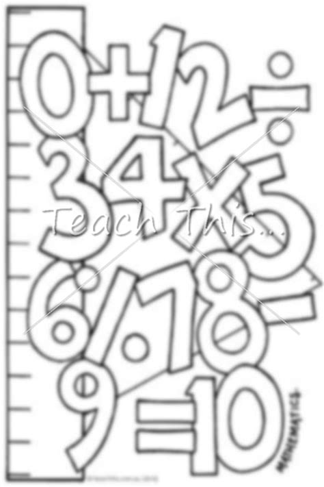 math title page printable title pages for primary