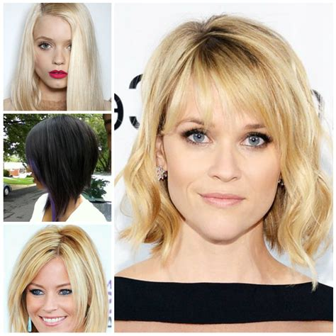 Medium Length Hairstyles 2017 With Bangs by Medium Length Haircuts With Bangs 2017 Casual Mid Length