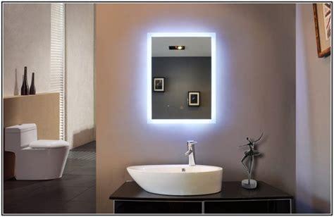 bathroom mirror with lights behind 17 best ideas about mirror with lights on pinterest