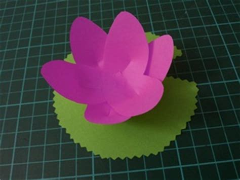 lotus flower paper craft vesak day activities paper lotus mumsibles