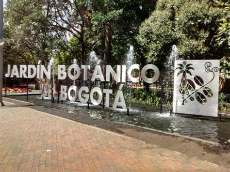 entrada jardin botanico bogota foto de jard 237 n bot 225 nico de bogot 225 jose celestino mutis