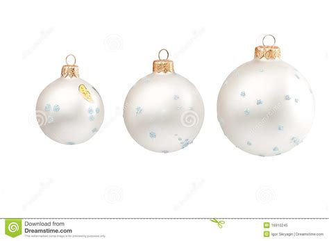 snow christmas spheres royalty free stock photo image