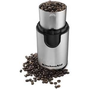 Kitchenaid Coffee Grinders Kitchenaid Coffee Grinder Onyx Black Bcg111ob