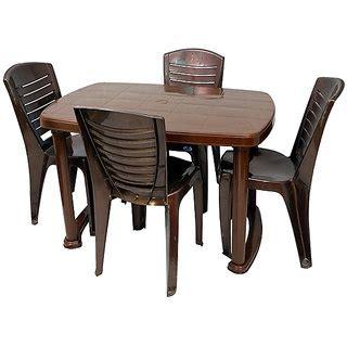 Nilkamal Shahenshah Dining Table With Chair 4025 Weather Nilkamal Dining Table Shopping