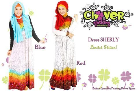 Overall Wilona Clover Clothingoverall Muslimgamis Muslim muslimina fashion gamis clover clothing