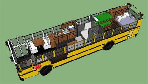 school bus rv floor plans pin by adam bauer on bus cing pinterest