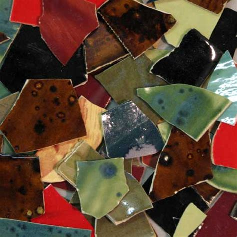 Handmade Glass Tiles - handmade ceramic tile by cece bode 1 2 lb