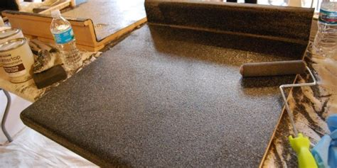 just used giani granite countertop paint kit love this paint your own granite is a thing and apparently it