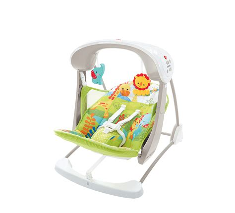 fisherprice swings buy fisher price rainforest take along swing seat babycity