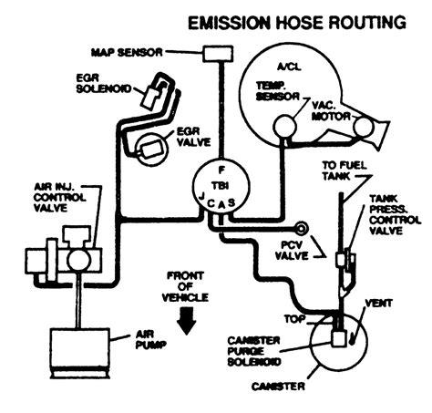 vacuum lines schematics