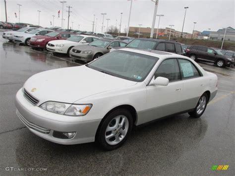 lexus sedan 2000 white pearl 2000 lexus es 300 sedan exterior photo