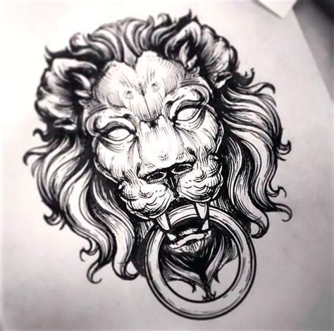 lions head tattoo top 25 ideas about tattoos on