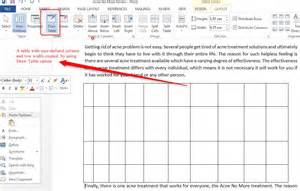 how to insert a table in word 2013 tutorials tree learn
