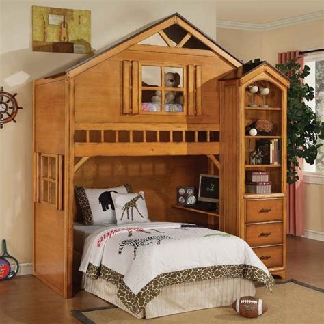 tree house bunk beds tree house bunk bed toddler bunk beds that turn the bedroom into a playground the