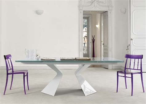 Bonaldo Prora Extending Dining Table Extending Glass Extending Glass Dining Table