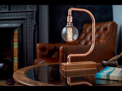 handmade copper desk lamp d light youtube