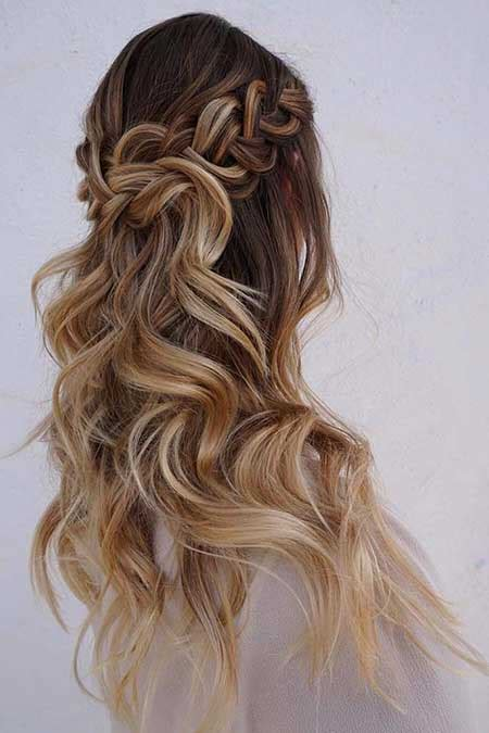 half up half down hairstyles thin hair 30 gorgeous braided half up half down hairstyles